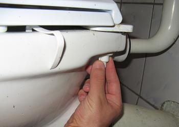 Demontare Colac de WC