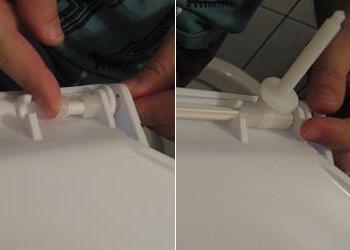 Sistem de prindere colac de WC