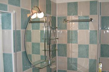 Oglinda de baie cu spoturi