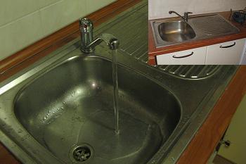 Verificare curgere apa in chiuveta