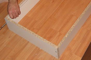 Realizare cadru sertar din patru laturi