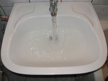 Starea initiala a chiuvetei de baie
