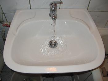 Folosire chiuveta baie desfundata