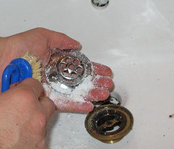 Curatare ventil cu detergent