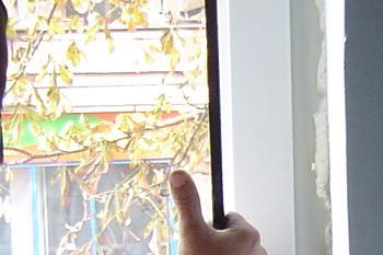 Se monteaza geamul