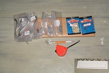 Materiale pentru amenajare cuier hol