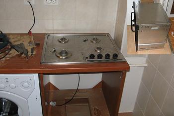 Introducere cuptor in mobila de bucatarie