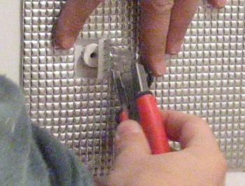Ajustarea paslei in jurul diblului de jos