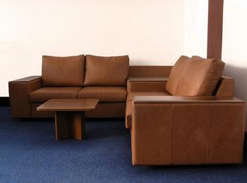 Canapea coltar moderna, din piele