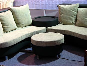 Canapea Coltar cu perne mari