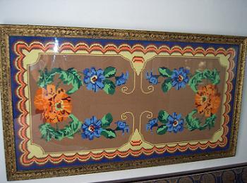 Decoratiuni Interioare cu Goblen Floral