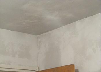 Aplicare glet pe tavan
