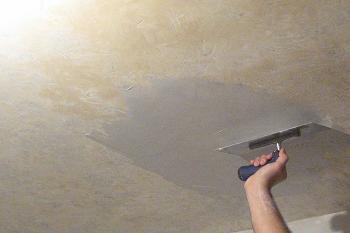 Cum se gletuieste tavanul