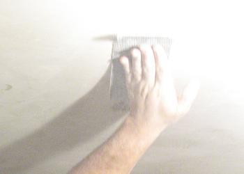 Finisarea tavanului dupa gletuire