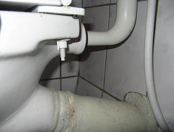 Identificarea scurgerii la obiectele sanitare