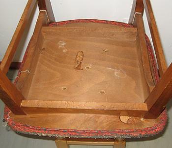 Metoda de tapitare scaune cu capse