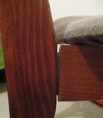 Scaun de sufragerie cu imbinarile slabite