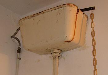Rezervor WC de fonta