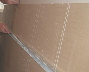 Masurare placa de gips carton