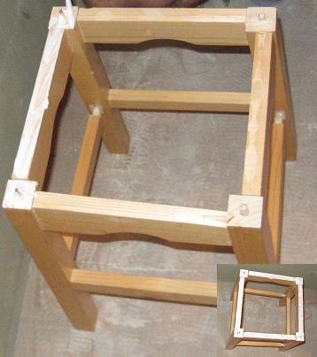 Scaunele de bucatarie se repara cu aracet