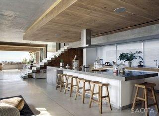 bucatarie open space cu bar