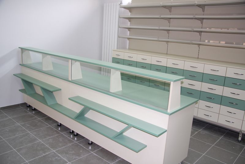 mobilier farmacii complet utilat