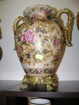vaza chinezeasca pictata cu floricele