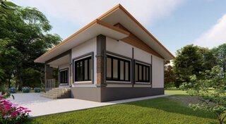 Plan 2 casa fara etaj si 3 dormitoare
