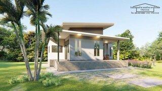 Proiect 1 Vedere laterala casa parter