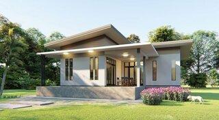 Proiect 1 casa parter mica si moderna