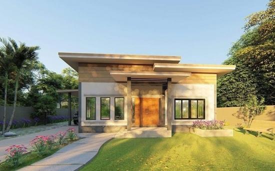 Proiect 3 Casa doar cu parter si cu trei dormitoare