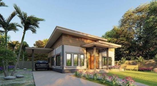 Proiect 3 casa doar cu parter pentru o familie cu 2 copii