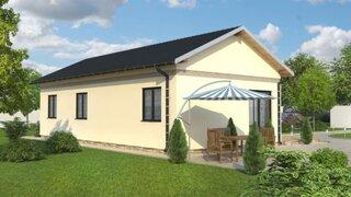 Casa din lemn cu 3 dormitoare - proiect 3