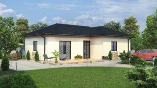 Casa parter pe structura de lemn - proiect 3
