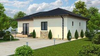 Model de casa din lemn ieftina pentru o familie de 4 persoane - proiect 3