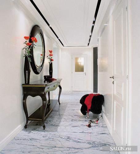 30 de imagini cu idei pentru amenajarea holurilor lungi si inguste