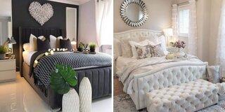 Dormitor alb versus dormitor negru