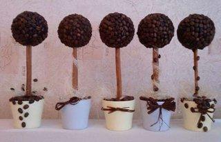 Copacei din cafea