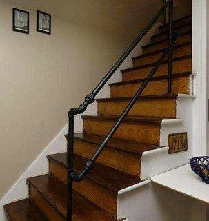 Bara de protectie pentru scari ieftina si utila