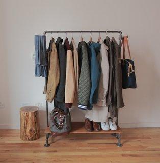 Dressing mobil confectionat din tevi