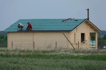 Folie fibra de sticla pentru acoperis