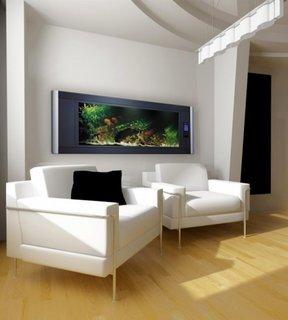 Tablou pe perete cu acvariu incorporat