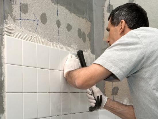Placare perete bucatarie