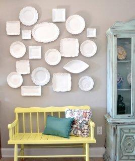 Farfurii ingenioase de agatat pe perete
