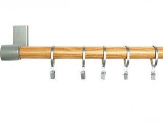 Galerie combinatie lemn cu aluminiu