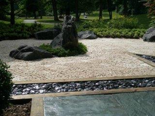 Gradina japoneza cu pietre