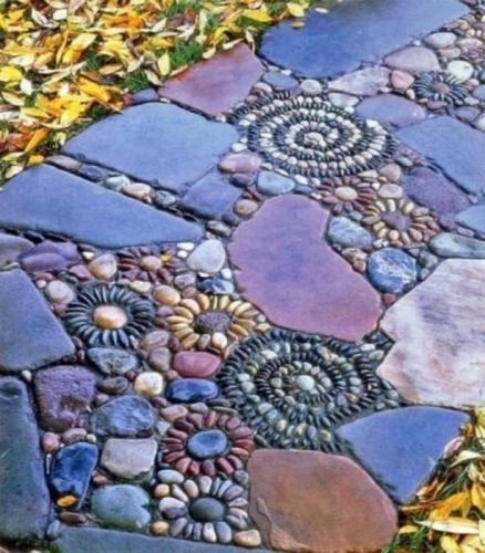 Alee ornamentala din pietre