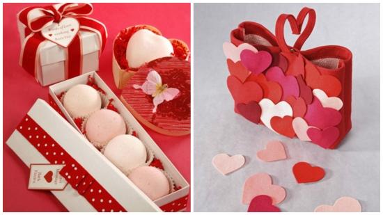 Cadouri de Sfantul Valentin - imagini cu idei pentru o impachetare cat mai inedita