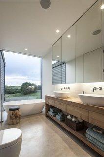 Mobila pentru baie ecologica din lemn