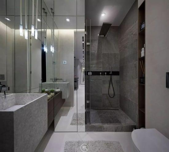 Amenajare baie moderna for Amenajare baie garsoniera